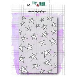 Classeur d'embossage étoiles DIY and Cie