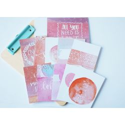 Aqualove - Cartes journaling- Studio Forty