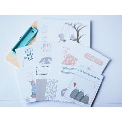 Love me do - journaling cards- Studio Forty