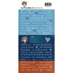 Stickers Petits mots- Jean's