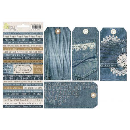 Set Blue Jean story- L'Encre et l'Image