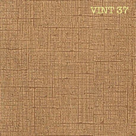"Cardstock Vintage  marron noisette12X12"""