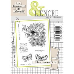 Clear Stamp Libre Comme l'Air-  L'Encre et l'Image