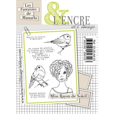 Clear Stamp Miss Rayon de Soleil- L'Encre et l'Image