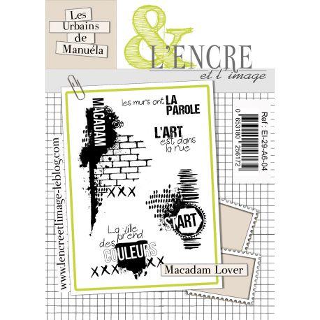 Clear Stamp Macadam Lover -  L'Encre et l'Image