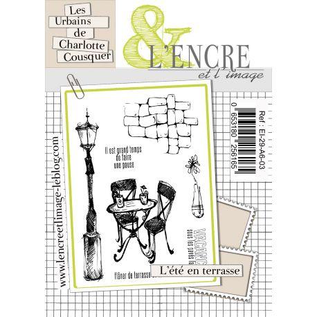 Clear Stamp L'été en Terrasse - L'Encre et l'Image