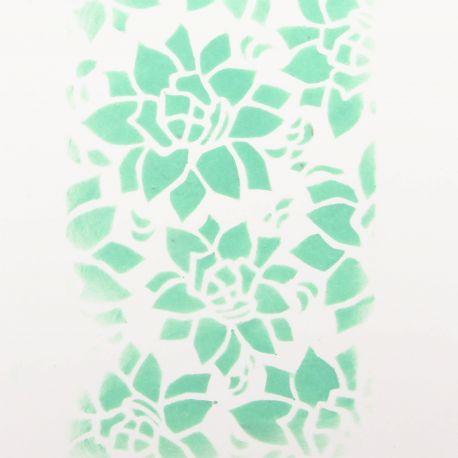 Pochoir Succulente - DIY and Cie