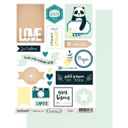Labels sheet Tenderling Léo