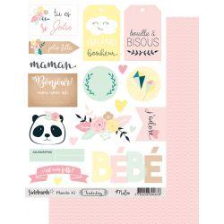 Labels sheet Tenderling Mila