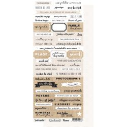 Santorini Naxos Planche de mots