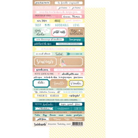 Labels sheet Tenderling Axell