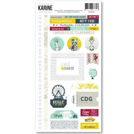 Correspondances -Stickers 15X30