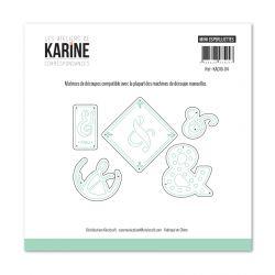 Dies Mini esperluettes- Les Ateliers de Karine