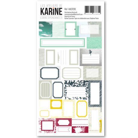 Correspondances -stickers étiquettes
