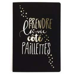 Paillettes Notebook
