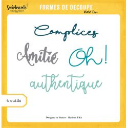 Dies Authentique - SWIRLCARDS