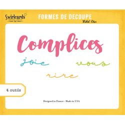 Dies Complicess - SWIRLCARDS