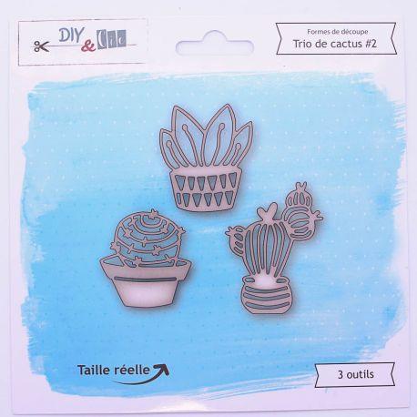 Die Trio cactus V2 - DIY and Cie