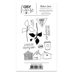 Clear Stamp Cosy House - Béatrice Garni