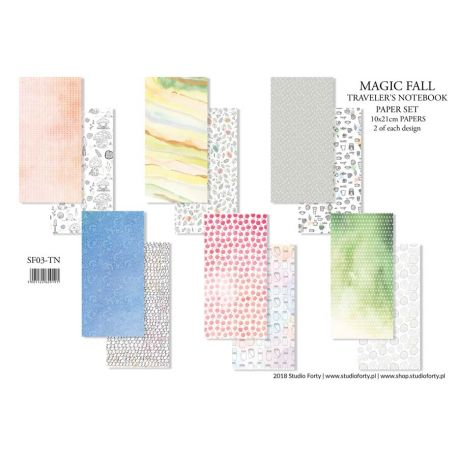 Magic Fall Notebook Edition