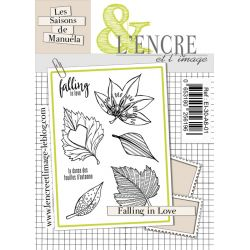 Tampon clear Falling in Love - L'Encre et l'Image