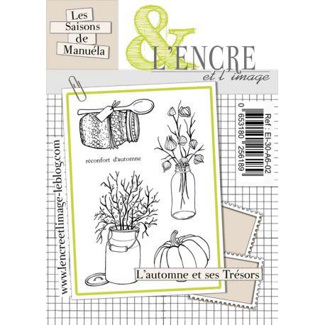 Clear Stamp Automn Treasures -  L'Encre et l'Image