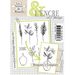Clear Stamp Create your own Bouquet -  L'Encre et l'Image