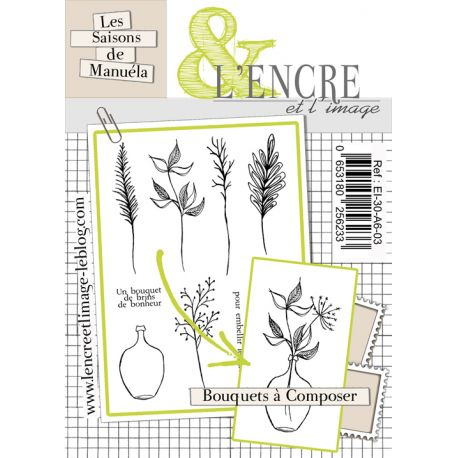 Clear Stamp Create your own Bouquet -  L'Encre et l'Image