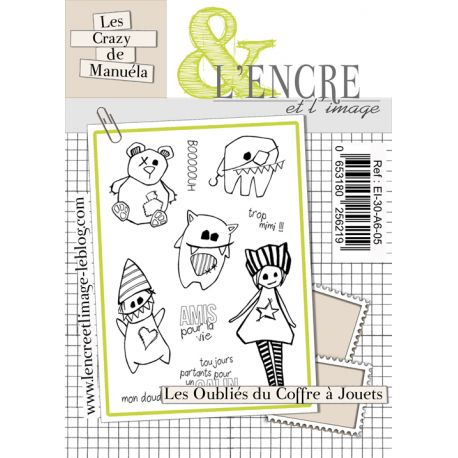 Clear Stamp The Uglies -  L'Encre et l'Image