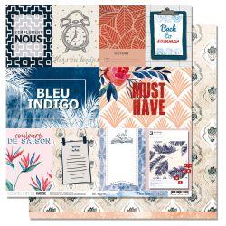 Blue Batik 6- Les Ateliers de Karine