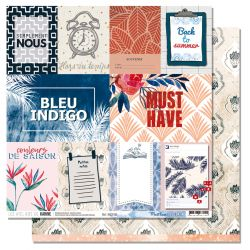 Blue Batik collection 6- Les Ateliers de Karine