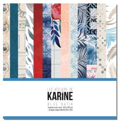 Blue Batik collection - Les Ateliers de Karine