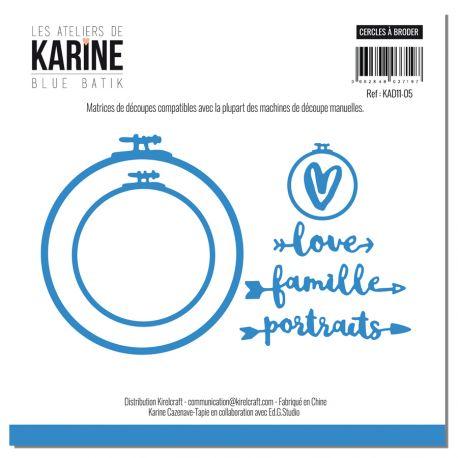 Dies Cercles à Broder- Les Ateliers de Karine