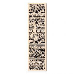 Wooden Stamp Bordure Batik-Les Ateliers de Karine
