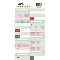 Mini Z'étiquettes Récréation-éphéméria