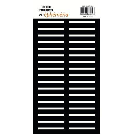 Mini Z'étiquettes Noir