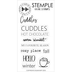 Clear Stamps-Cuddle- Studio Forty