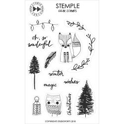 Clear Stamps-Winter wishes- Studio Forty