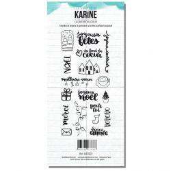 Clear Stamp Carte Blanche La carterie du coeur- Les Ateliers de Karine