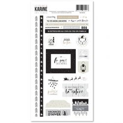 Carte Blanche -Stickers 15X30
