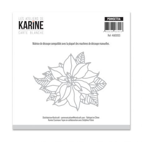 Die Poinsettia -Les Ateliers de Karine