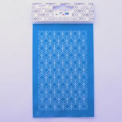 Silkscreen Hexagones - DIY and Cie