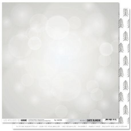 Carte Blanche 1- Les Ateliers de Karine