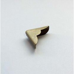 Coin avec découpe Bronze