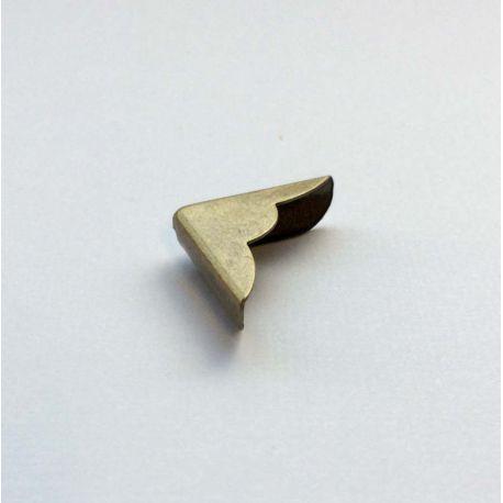 Metal book corner bronze