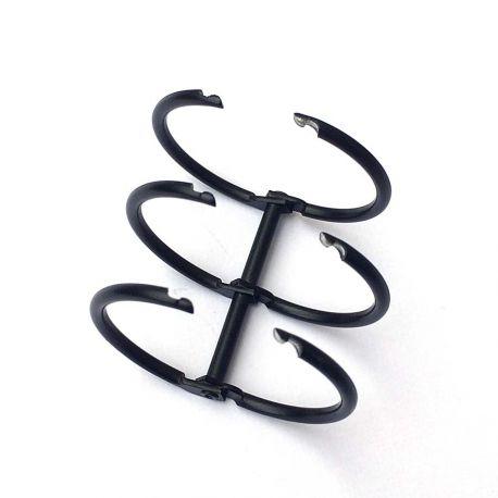 Binding 3 rings 30mm black