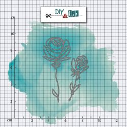 Dies Roses - DIY and Cie