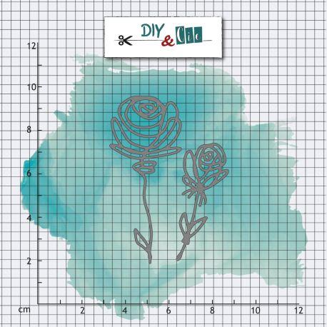 Dies Roses - DIY and Cie