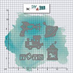 Dies Jouets anciens - DIY and Cie