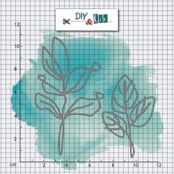 Dies Feuilles fines - DIY and Cie